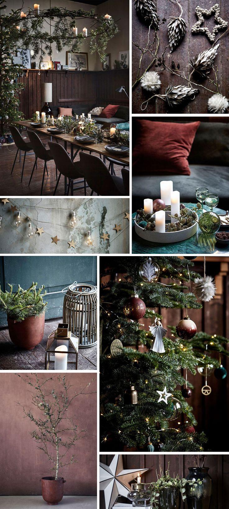 Holiday decor inspiration | Nordicdesign #christmas #decor #holidaydecor