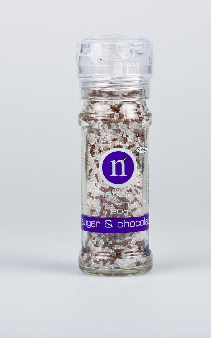 Sugar & chocolate grinder