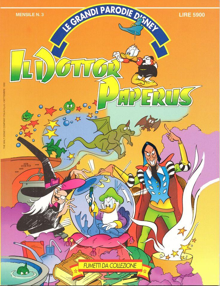IL DOTTOR PAPERUS - Le Grandi Parodie Disney n. 3 (1992)