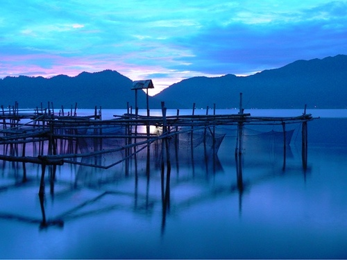 Lake Maninjau, West Sumatra, Indonesia
