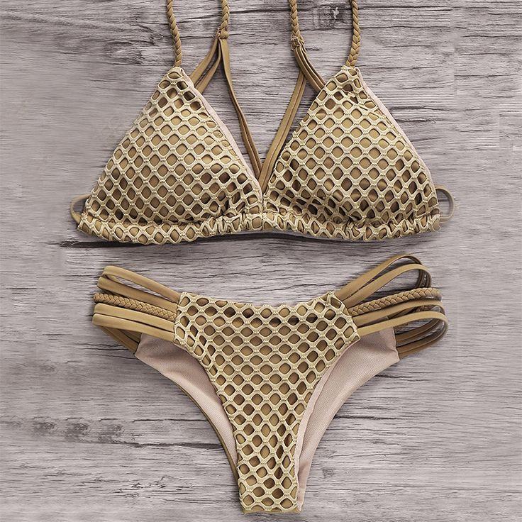 $19.66 (Buy here: https://alitems.com/g/1e8d114494ebda23ff8b16525dc3e8/?i=5&ulp=https%3A%2F%2Fwww.aliexpress.com%2Fitem%2FSexy-Women-Triangle-Push-Up-Women-Dark-Grey-Mesh-New-Design-Women-Strappy-Bikini-Swimwear%2F32716865995.html ) Sexy Women Triangle Push Up Women Dark Grey Mesh New Design Women Strappy Bikini Swimwear for just $19.66