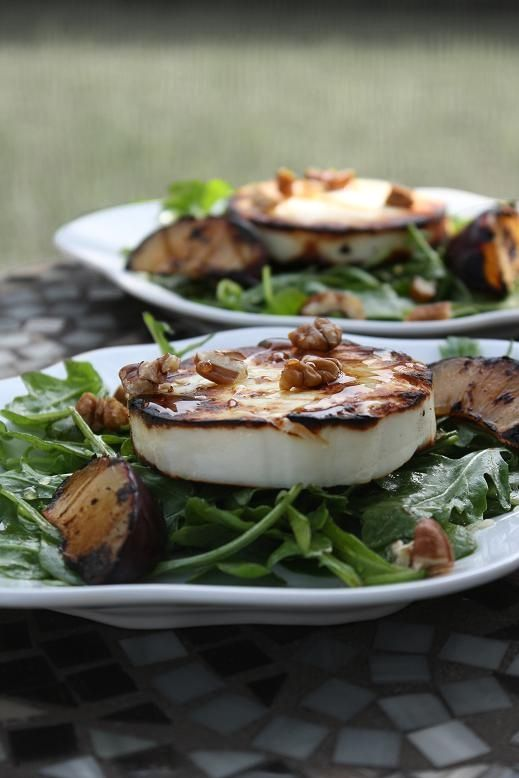 This is my Greece   Grilled manouri salad