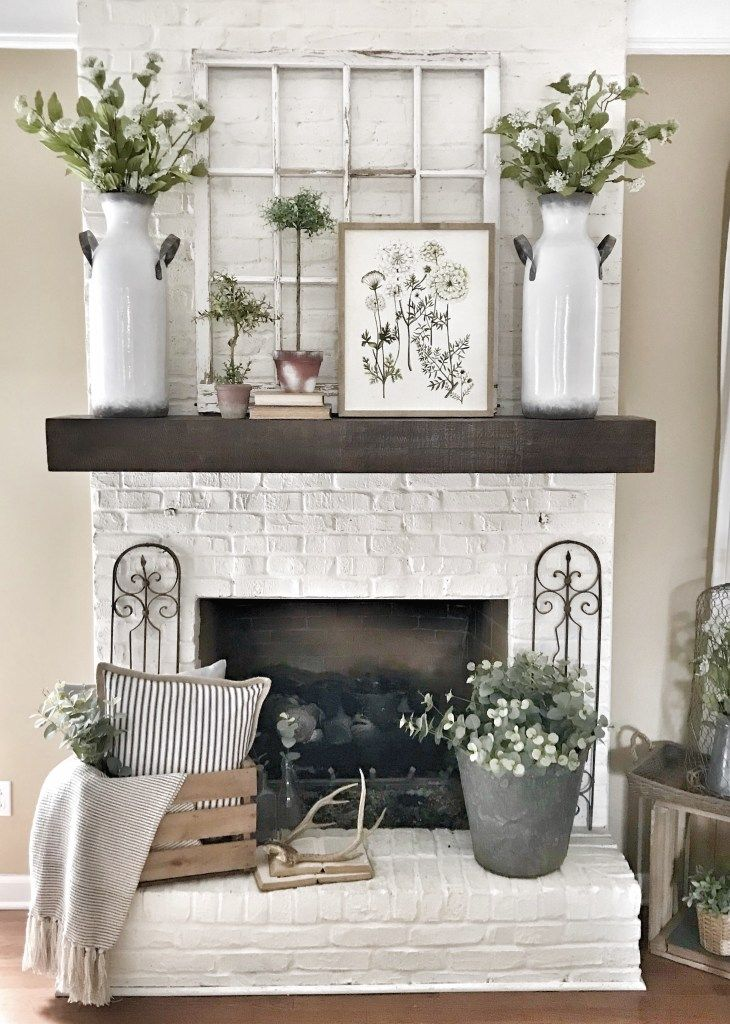 My Pottery Barn Shelf Mantel Hack Pottery Barn Shelves