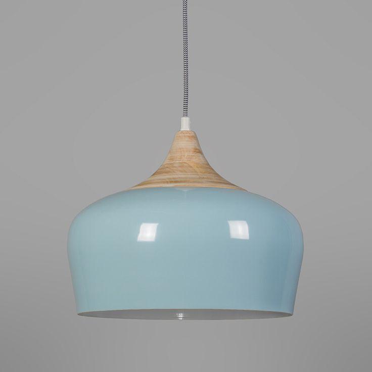 Hanglamp Pine lichtblauw