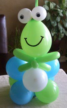 Cute@charlotte durden.  Maybe the balloon man at old navy could do it for you...