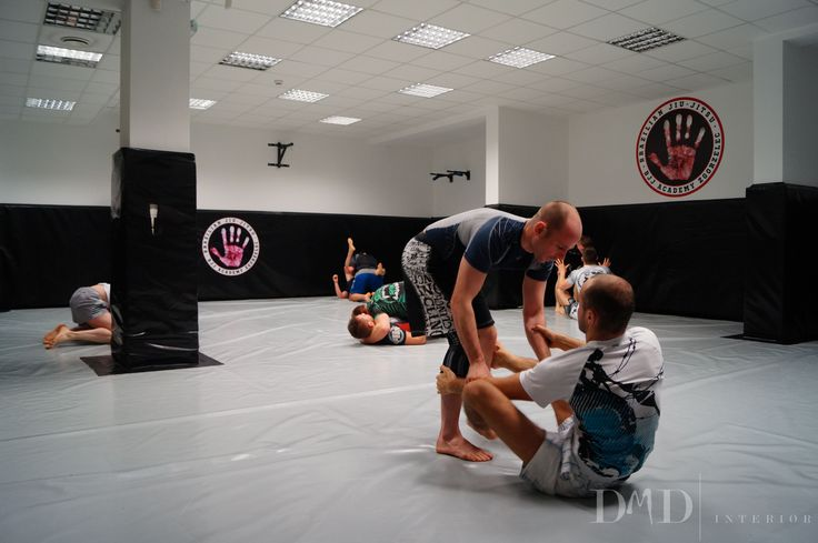 The project for BJJ Zgorzelec club aimed for transforming previously located there fitness club into Brazilian Jiu-Jitsu gym. First we removed mirrors (a threat to trainees) and unified the colors. 100m2 of the floor and the walls is nowprotected with a grey and black mat matching the colors of the club. Simple in design room...  Read more »