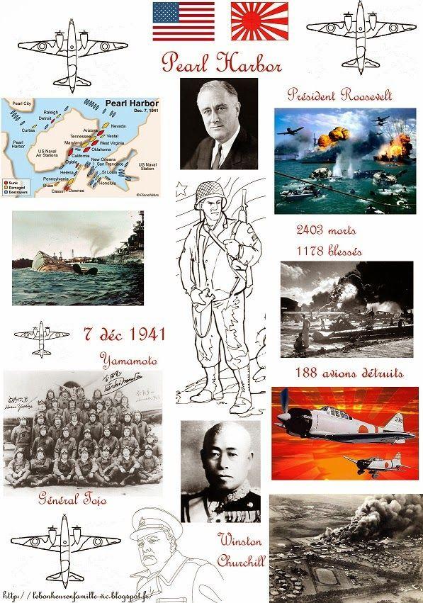 Le bonheur en famille: L'attaque de Pearl Harbor...