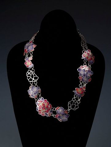 HydrangeasEnamels Iii, Jewerly Design, Al Fuego, Hydrangeas Necklaces, Ashley Gilreath Usa, Artists Inspiration, Hydrangeas Jewelry, Art Jewelry, Necklace Pending