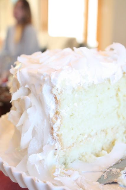 Bites of Sweetness: coconut cake: i went back down south