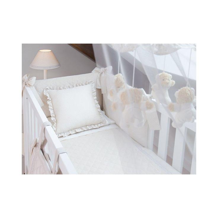 Resultado de imagen de colchas para cunas de bebe