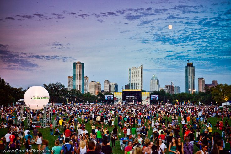 Austin City Limits Music Festival held each year.  Three days of good times.