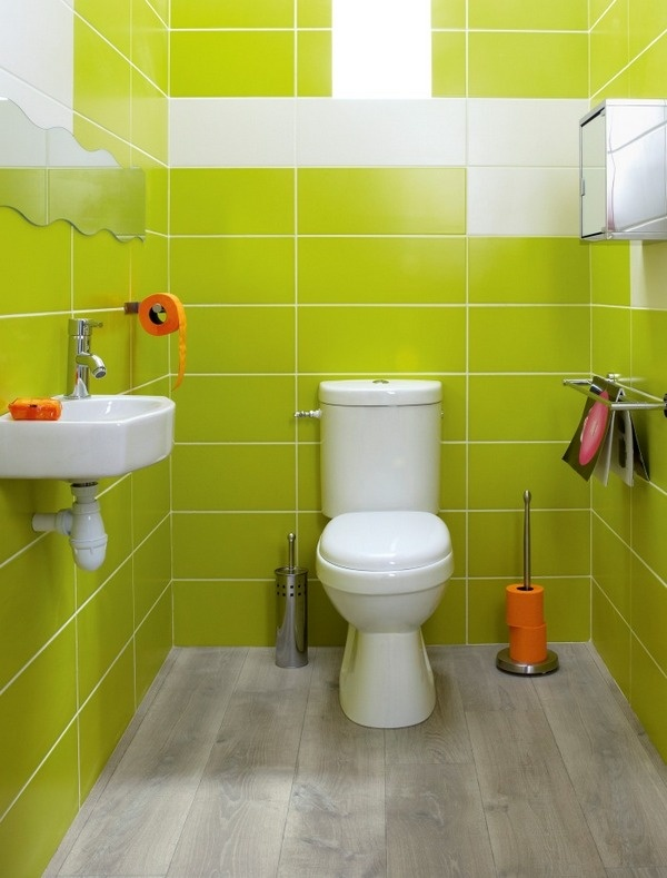 I Love The Color In This Bright Bathroom And The Idea Of Buying Non Traditionally Colored Toiletries Where Does One Even Buy Orange Toilet Paper