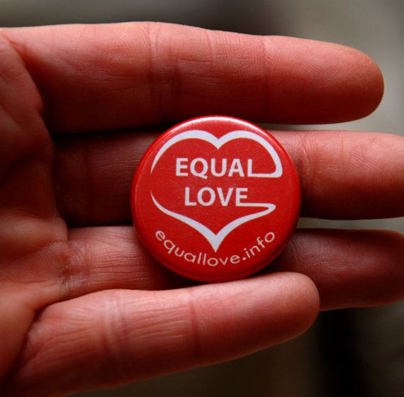 Equal Love Badge by EqualLoveMelb on Etsy