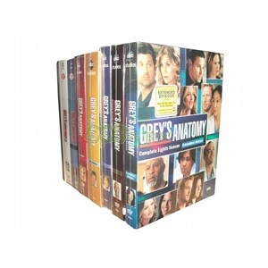 Grey's Anatomy Complete Seasons 1-8 DVD Box Set...Merry Christmas to ME!!  This is what I want this year!!