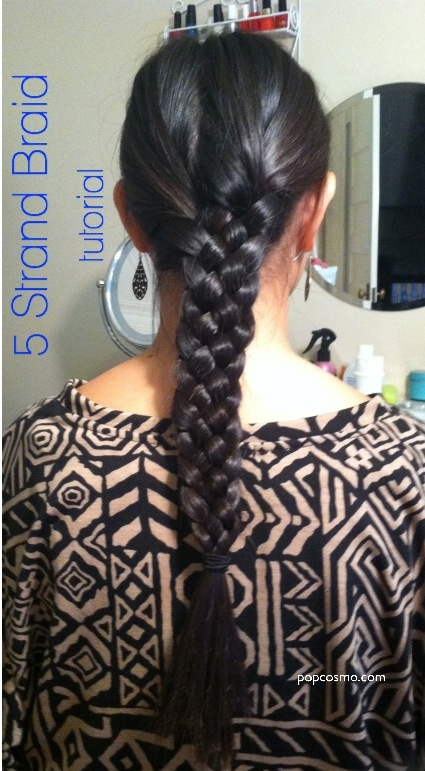 Marvelous 1000 Ideas About Five Strand Braids On Pinterest 5 Strand Short Hairstyles Gunalazisus