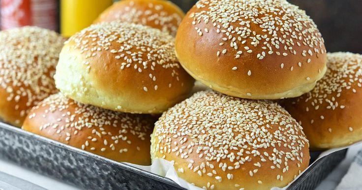 Beautiful Burger Buns Recipe | King Arthur Flour