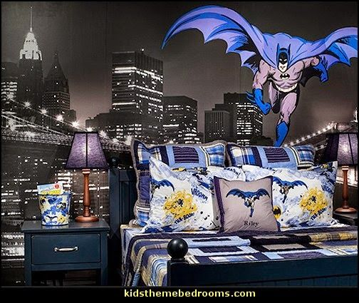batman theme bedroom ideas-decorating batman themed bedrooms