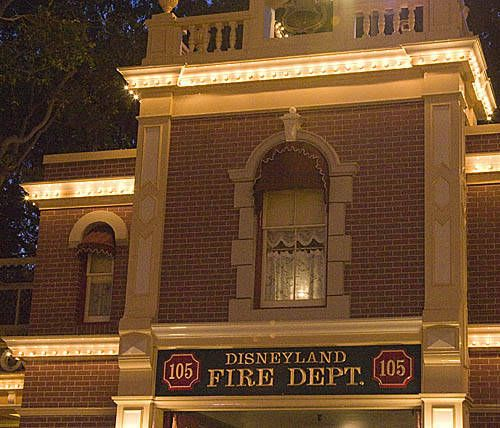 Near the entrance in Disneyland, above the Fire Dept. is Walt Disney's old private apartment. A custodial cast member went up there once to find the lamp turned on. She turned it off, only to have the light turn right back on by itself. Whether this is a ghostly wish from WD himself or not, the park has decided to keep the light on at night.