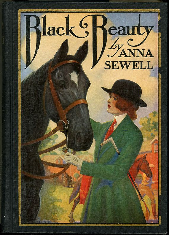 2 Vintage HORSE Books Wonderfully Illustrated 1927 & 1958 Black Beauty/Horse Tamer Both with Jackets on Etsy, $22.00