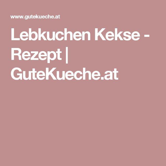 Lebkuchen Kekse - Rezept | GuteKueche.at