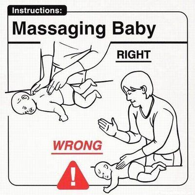 Your child cannot appreciate the karate chop maneuver yet.