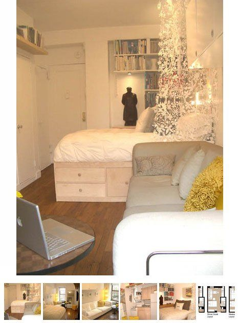 1000 images about studio apartments on pinterest kevin for Cool small studio apartments