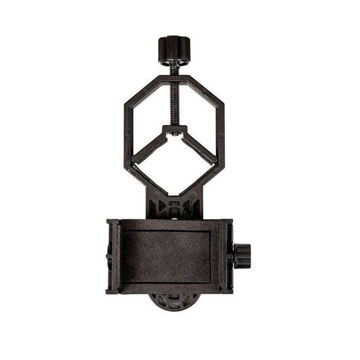Universal Metal Smartphone Adapter Mount Compatible with Binocular Monocular Spotting Scope Telescope Stereo Microscope //Price: $17.85//     #Gadget