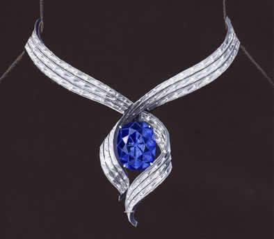 Harry Winston Jewelry Brought to you by... www.myfauxdiamond.com  Harry: The New Harry Winston Hope Diamond Design | Fine ...