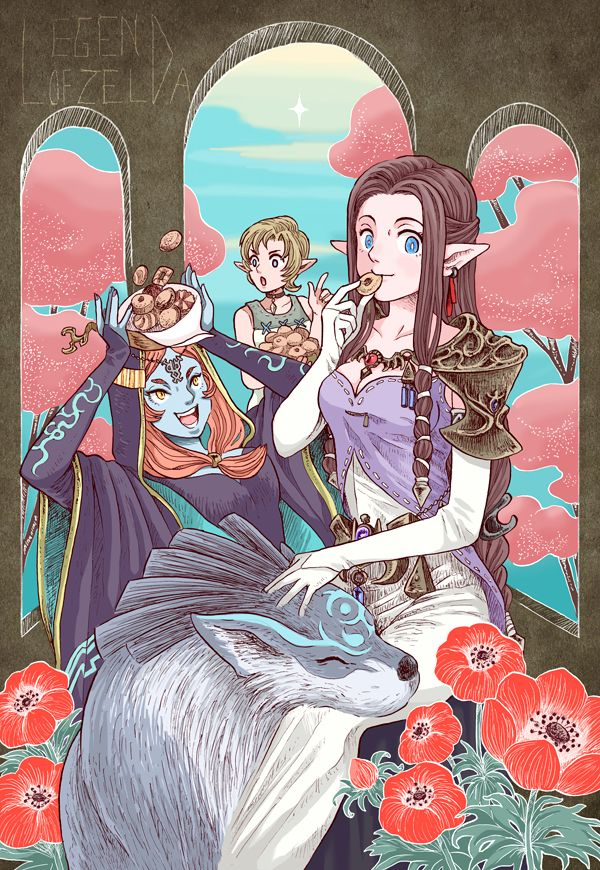 For Nowera- Link and Ilia by missmands on DeviantArt