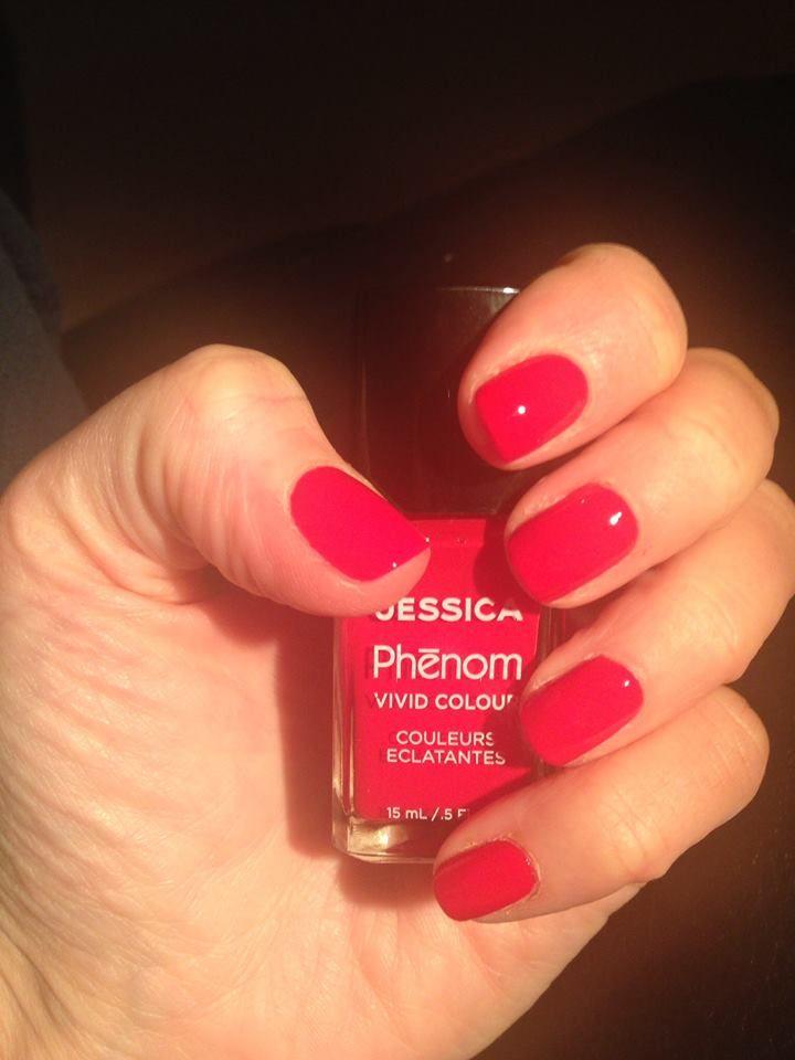 Jessica Phenom in Geisha Girl. Manicure by The Beauty Spot