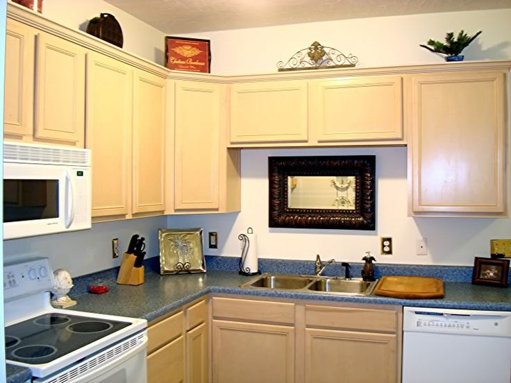 Cabinets Over Sink. Kitchen ...