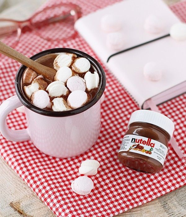 Nutella'lı sıcak çikolata tarifi