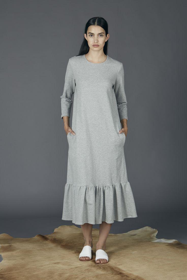Faraway Dress - Grey Marle