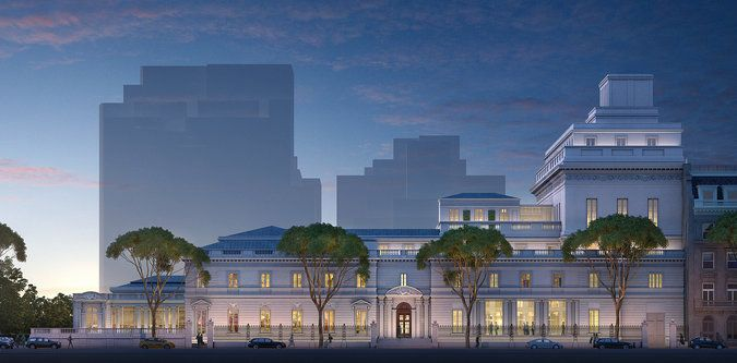 Critic's Notebook: Frick Collection Spares a Prized Garden - NYTimes.com