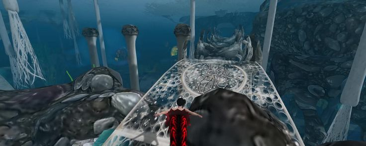 Only a fraction of what you can see underwater ....