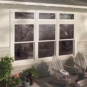 Exterior Double Hung And Transom Windows Renew Your Home