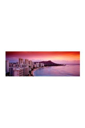 Sunset Honolulu Oahu HI USA Canvas Print on HauteLook