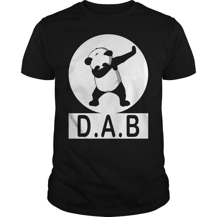 awesome panda dab dance dab shirt