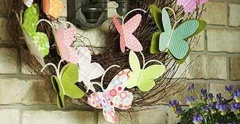 Készíts Te is hangulatos, egyszerű ajtódíszeket! Mutatjuk, hogyan kezdj neki! #diy #húsvét