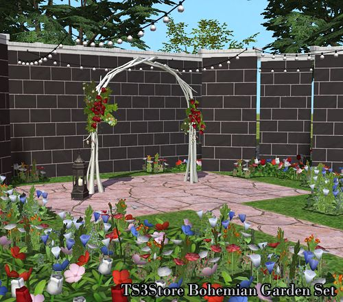 Wedding Altar Sims: 144 Best Sims 2 Weddings: Arches, Flower Decorations
