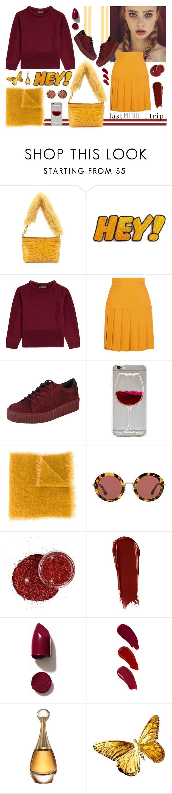 """""""Quick Fashionable"""" by elisahupkes ❤ liked on Polyvore featuring Elizabeth and James, Alexander McQueen, Gucci, Faliero Sarti, Miu Miu, NARS Cosmetics, Ellis Faas, Christian Dior and lastminutetrip"""