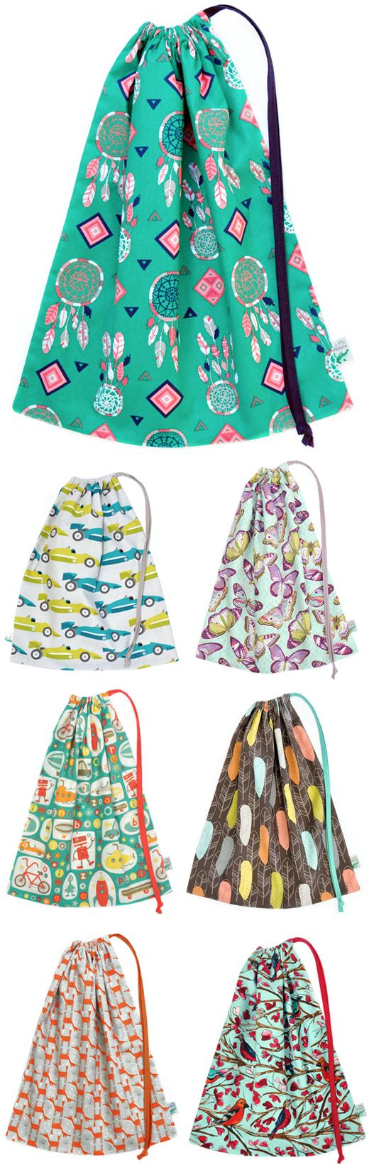 Kid Independent featuring Little Alligator Bags - Library Bags, Drawstring Bags, Christmas Bags, Children's Bags