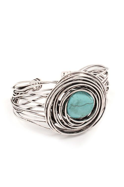 Verona Bracelet in Turquoise | Awesome Selection of Chic Fashion Jewelry | Emma Stine Limited