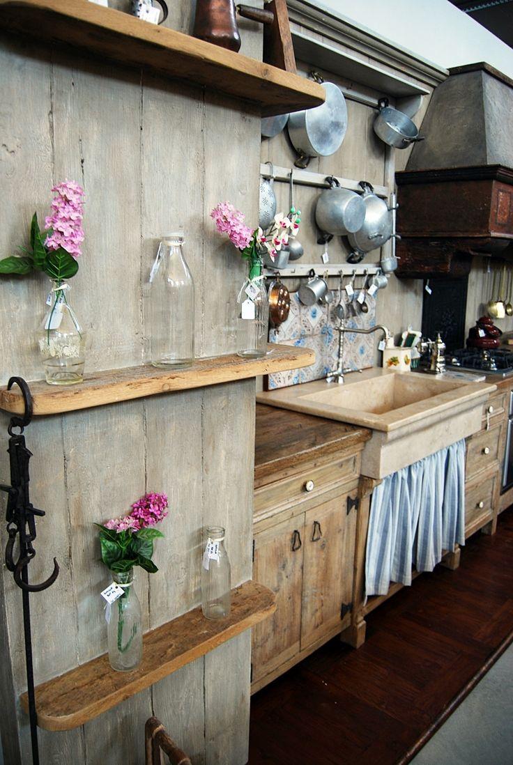 Oltre 25 fantastiche idee su bancone in legno su pinterest for Moderni piani di fattoria rustica