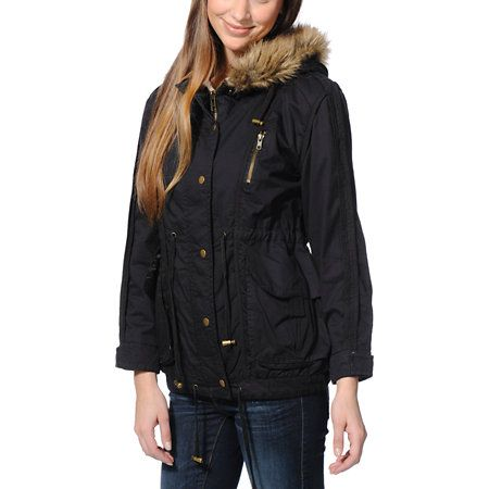Best 20  Black parka jacket ideas on Pinterest | Winter coats ...