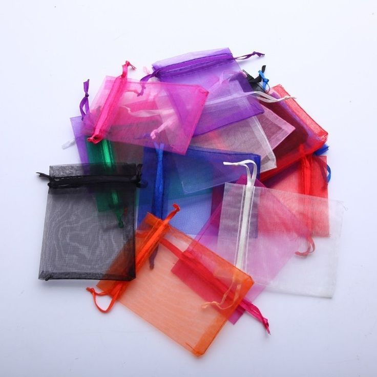 """Lot+of+100+50+3""""+x+4""""+Organza+Gift+Bag+Jewelry+Pouch+Wedding+Favor+NEW++"""