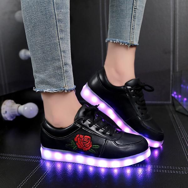 Unisex Luminous Sneakers with Light Led Shoes with Flower Glowing Sneakers!  sneakers sneakers outfit sneakers adidas sneakers women's sneakers fashion  sneakers jordans sneakers shoes sneakers slip on sneakers casual sneakers 2018  sneakers workout sneakers white sneakers vans sneakers cute sneakers high top  sneakers black sneakers platform sneakers running sneakers new balance sneakers cool