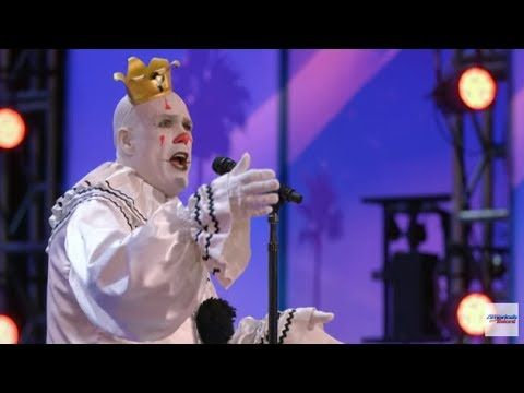 """Puddles Pity Party: Sad Clown Stuns Crowd with Sia's """"Chandelier"""" - America's Got Talent 2017 - YouTube"""