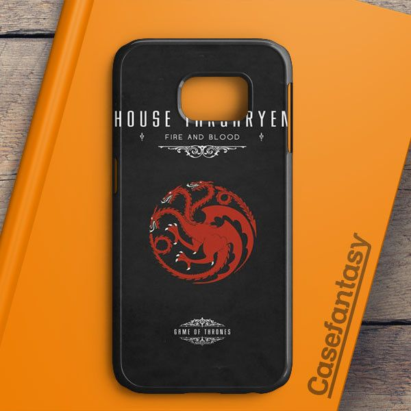 Game Of Thrones House Targaryen Samsung Galaxy S6 Edge Plus Case | casefantasy