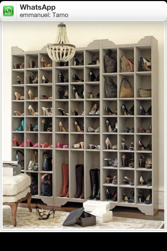 Buen organizador de zapatos for the home pinterest - Organizadores de calzado ...